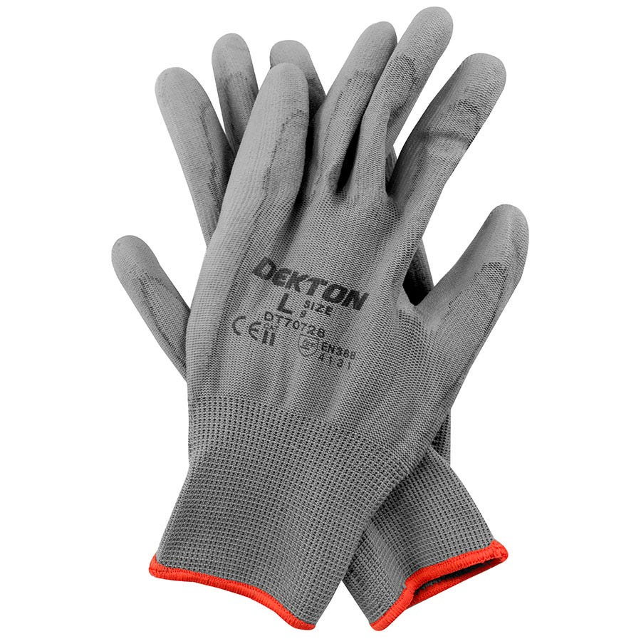 Compare prices for Dekton Snug-Fit PU-Coated Working Gloves