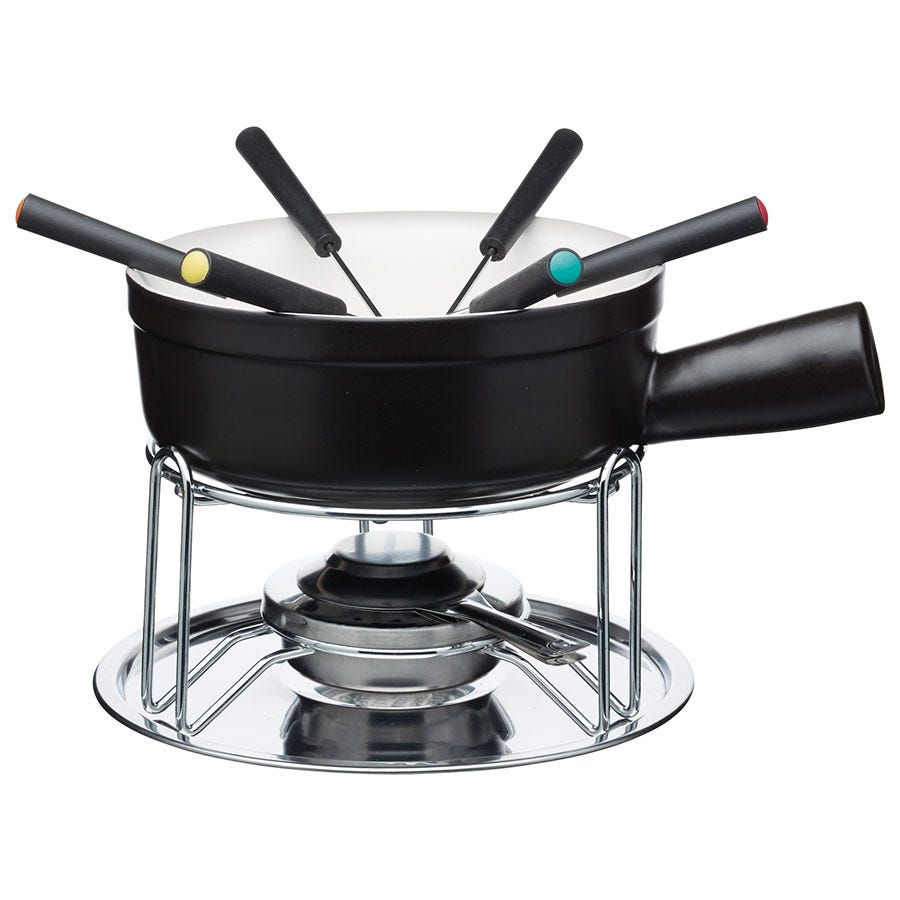 Compare prices for Artesa Cheese and Chocolate Fondue Set - Black