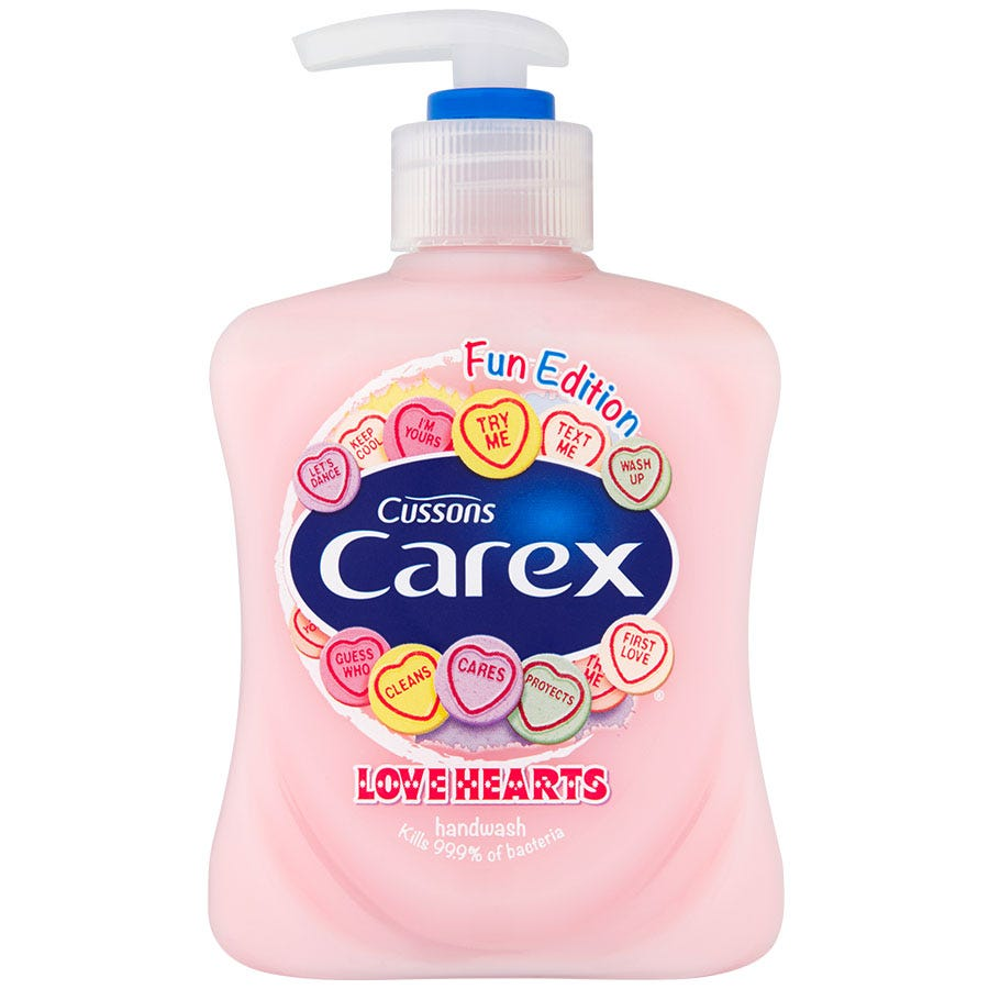 Image of Carex Love Hearts Hand Wash