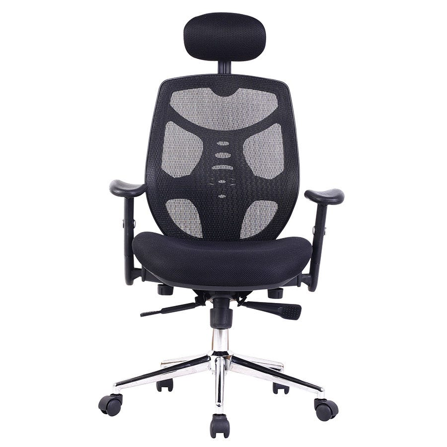 Compare prices for Eliza Tinsley Mesh High-Back Executive Chair with Adjustable Headrest