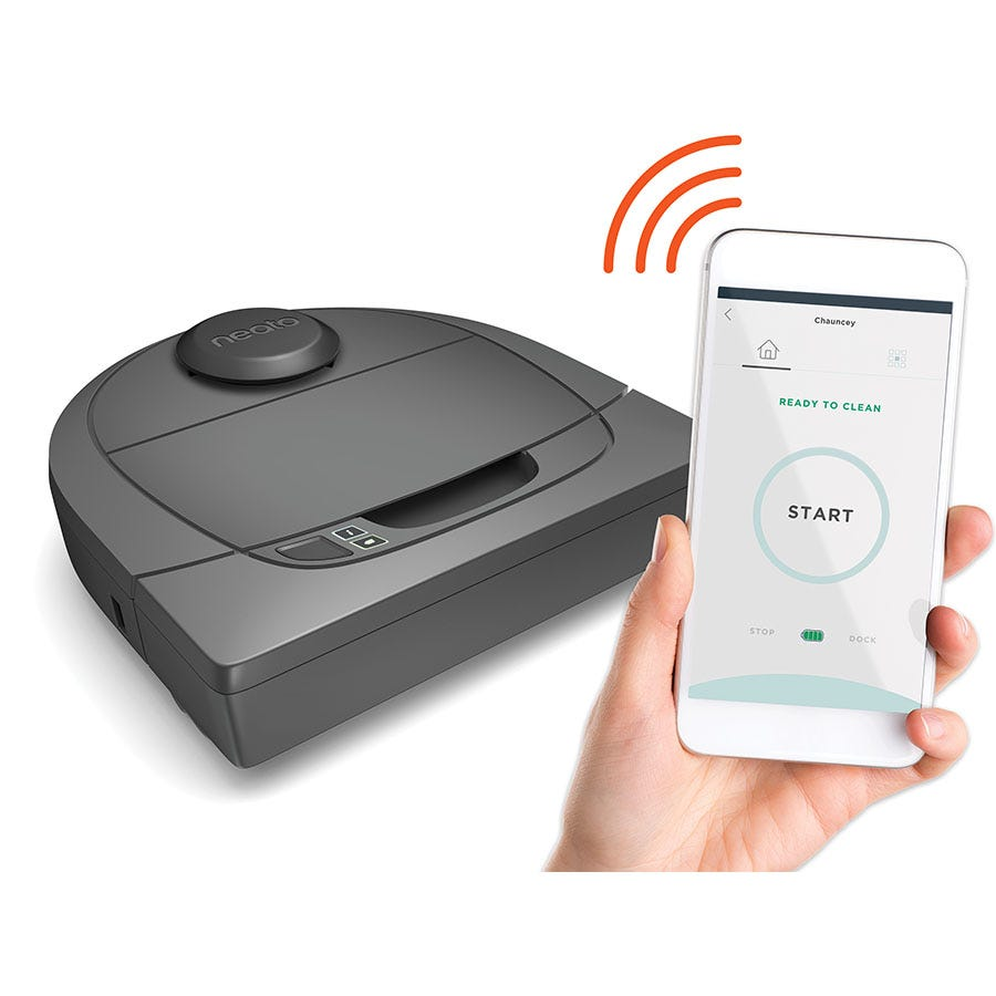 Neato Botvac Connected D3 LaserSmart Navigating Wi-Fi Robot Vacuum Cleaner