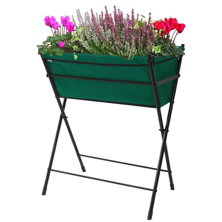 VegTrug Poppy Raised Planter - Dark Green