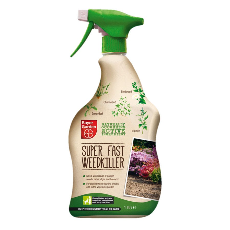 Compare prices for Bayer Natural Super-Fast Weed Killer - 1 Litre