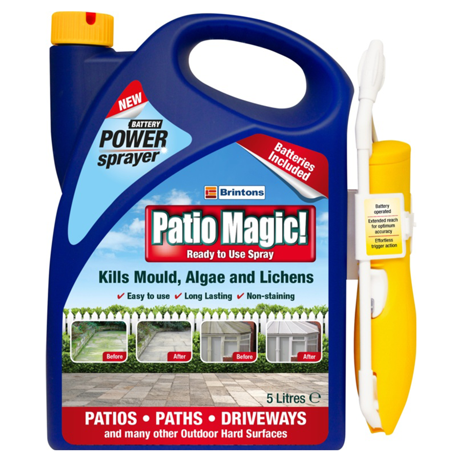 Compare prices for Patio Magic Power Spray - 5 Litres