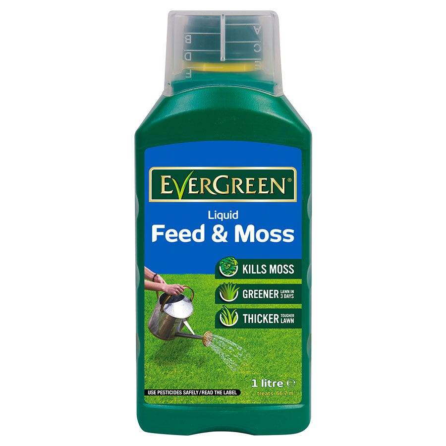 Compare prices for Evergreen Lawn Feeder and Moss Killer