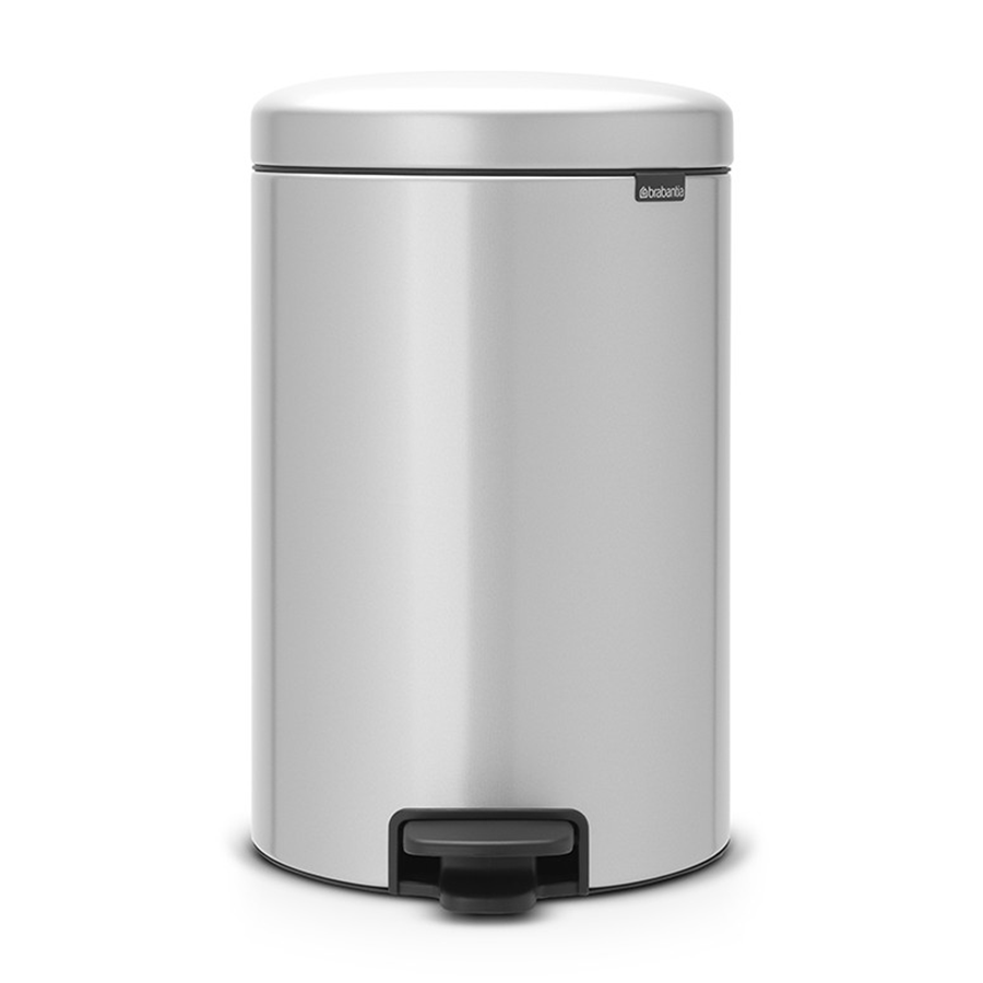 Compare retail prices of Brabantia 20L Pedal Bin - Metallic Grey to get the best deal online