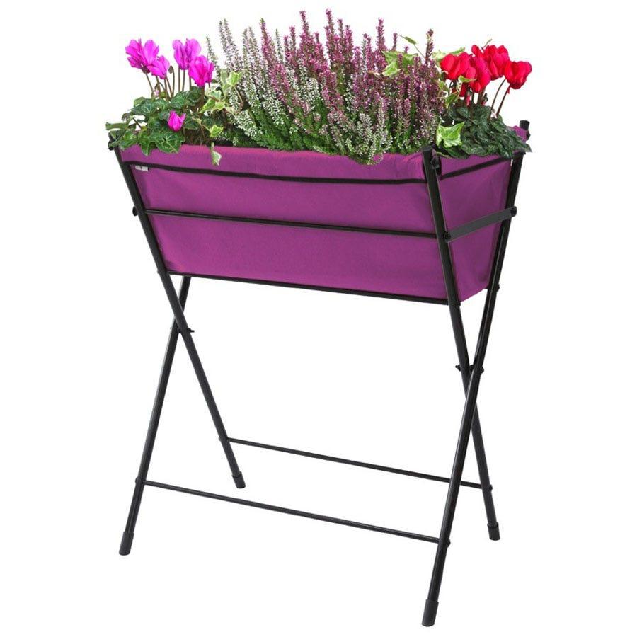VegTrug Poppy Raised Planter - Purple