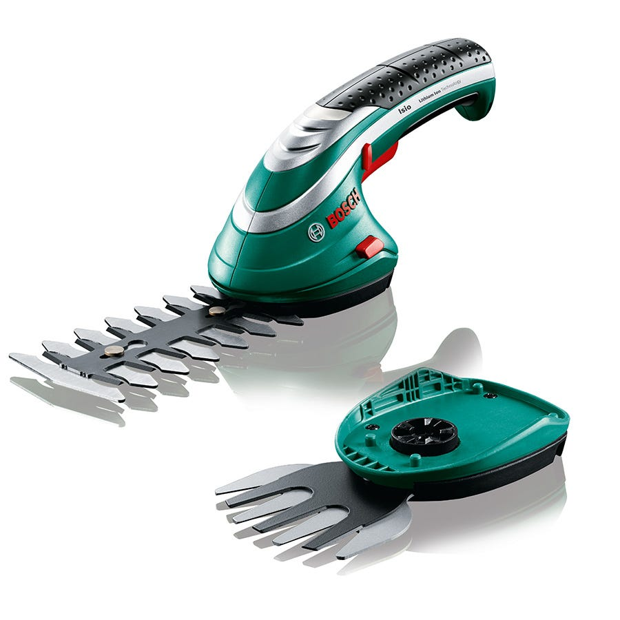 Compare cheap offers & prices of Bosch Isio Cordless Shape and Edge Hedge Trimmer manufactured by Bosch