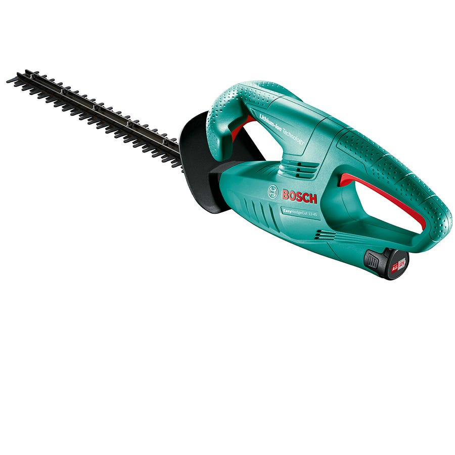 Bosch Easy Hedge Cut 12-45 Cordless Hedge Trimmer with 450mm Blade