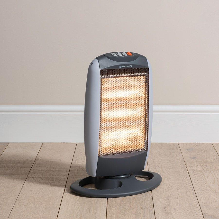 daewoo 1200w halogen heater. Black Bedroom Furniture Sets. Home Design Ideas
