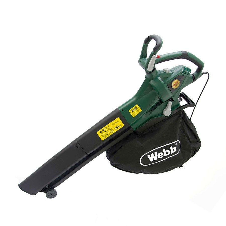 Webb EBV260 1300-Watt Electric Garden Blow/Vac
