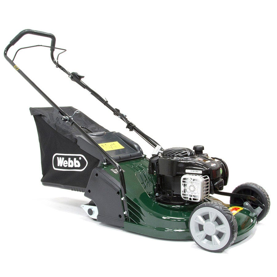Compare prices for Webb RR17P 43cm ABS-Deck Rear-Roller Rotary Petrol Mower