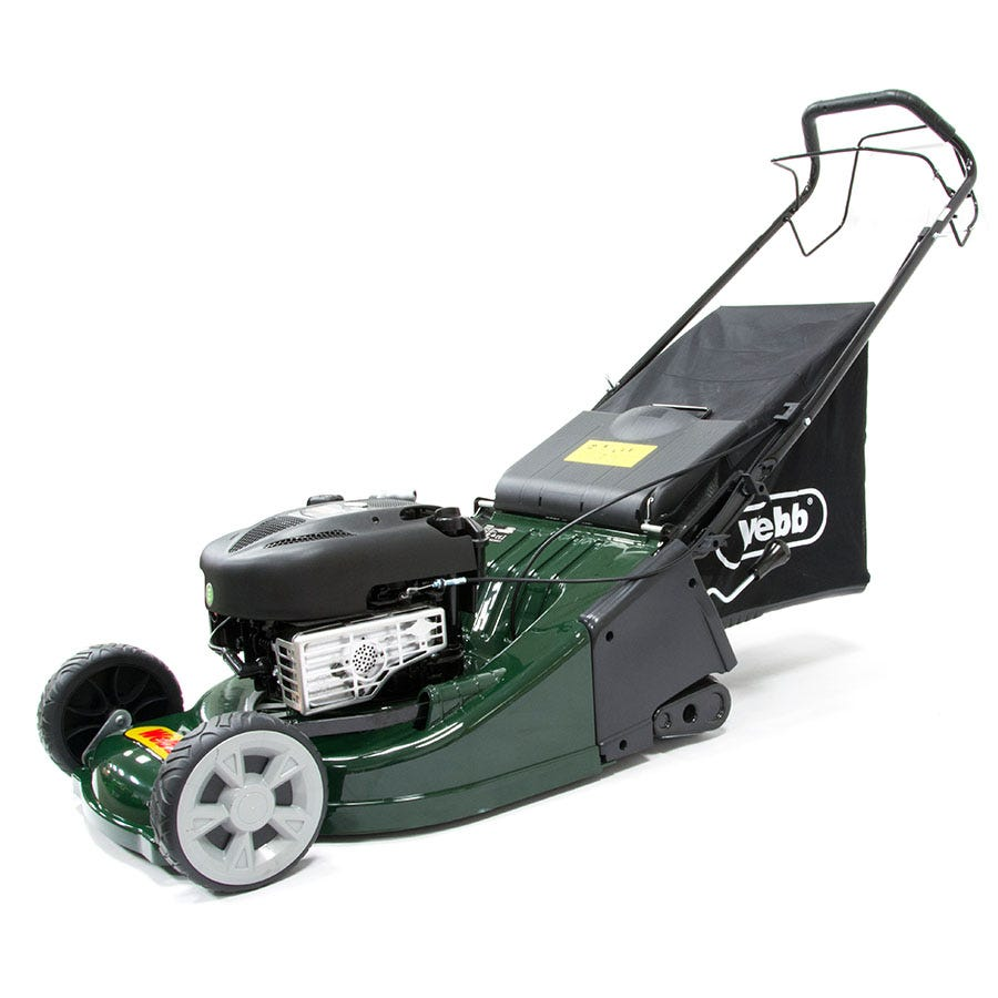 Compare prices for Webb RR19SP 48cm Self-Propelled ABS Deck Rotary Petrol Mower with Rear Roller