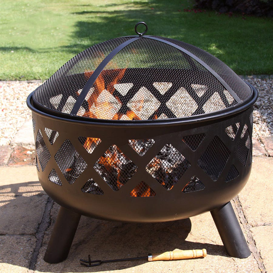 Compare prices for Gardeco Tara Large Fire Pit
