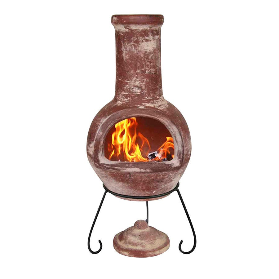 Compare prices for Gardeco Colima Large Clay Chiminea