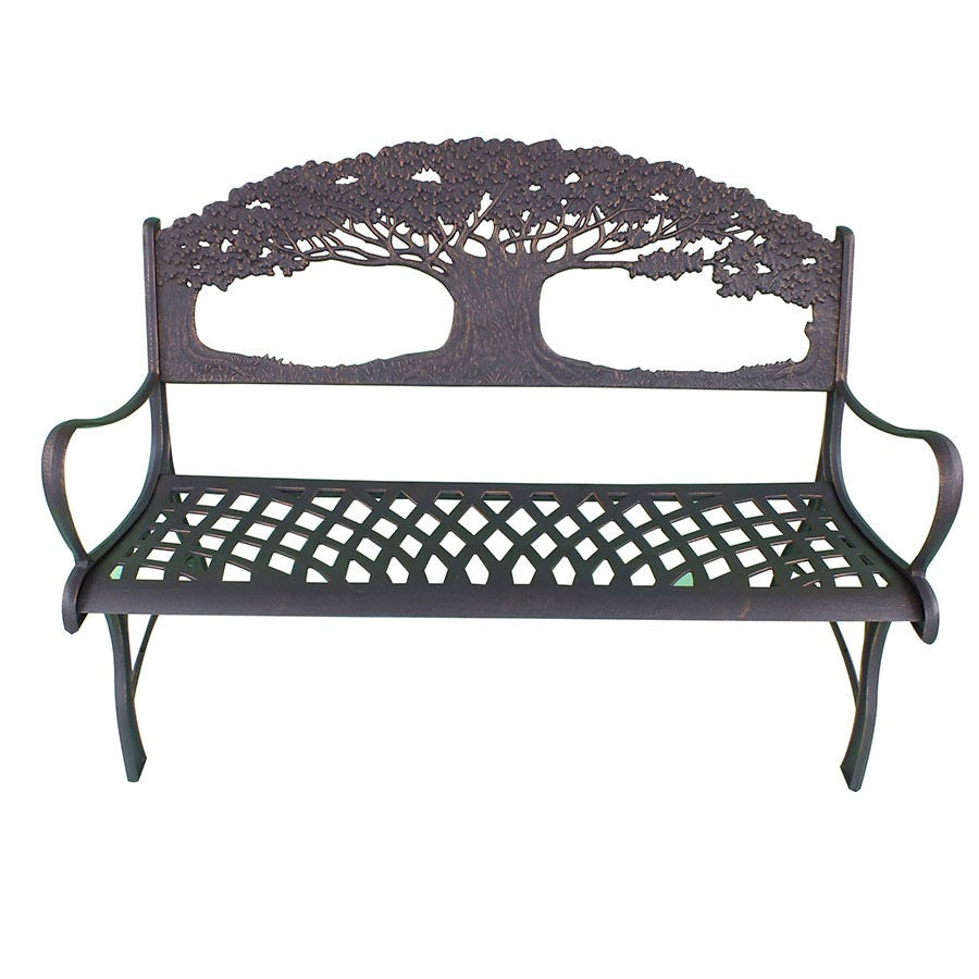 Compare prices for Gardeco Cast Iron Trees Bench