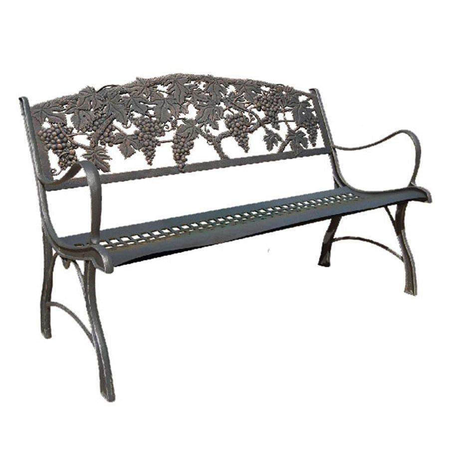 Gardeco Cast Iron Grapes Bench