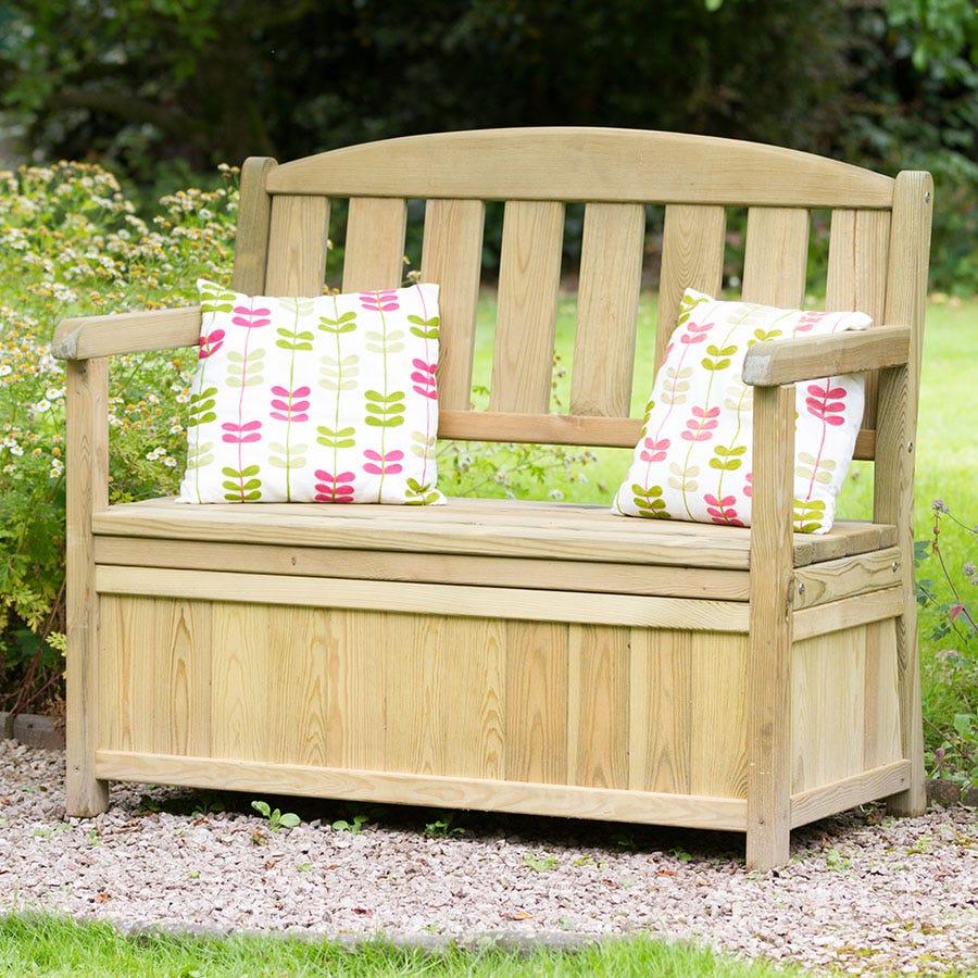 Compare prices for Zest4Leisure Caroline Garden Storage Bench