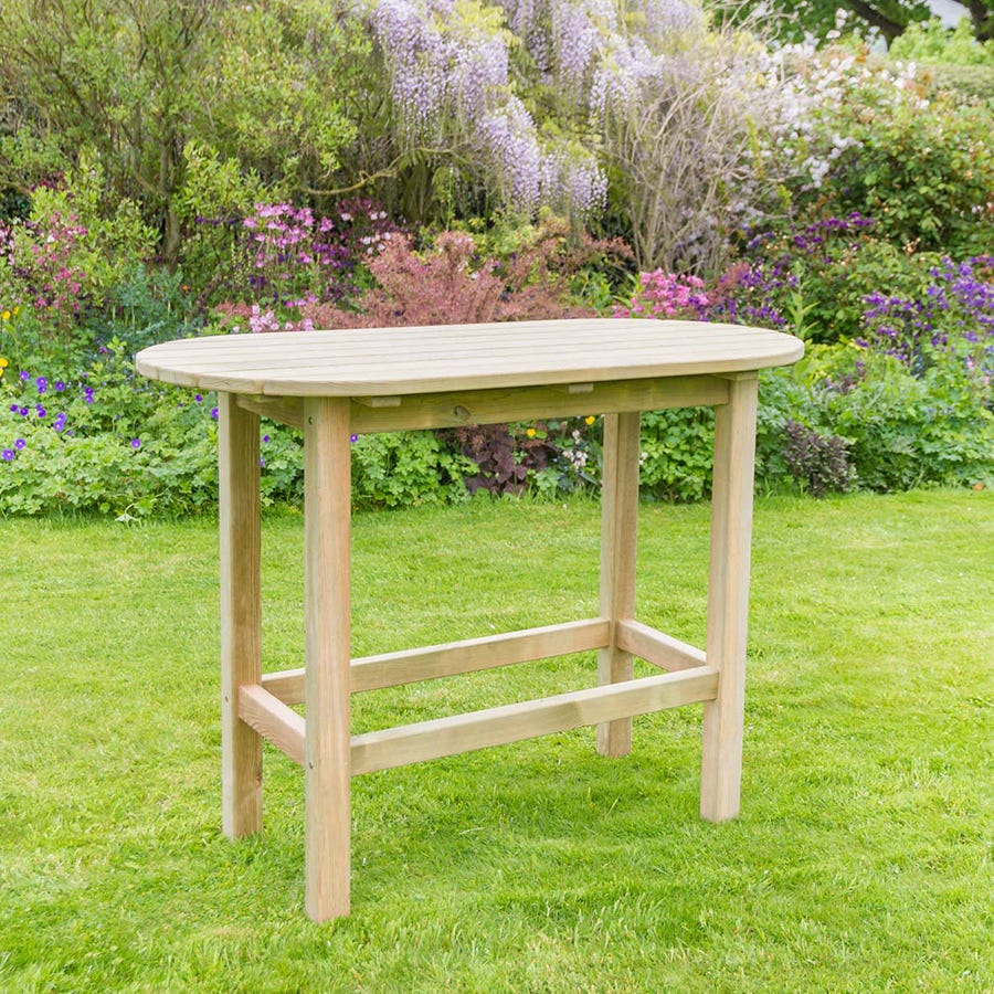 Compare prices for Zest4Leisure Bahama Oval Garden Table