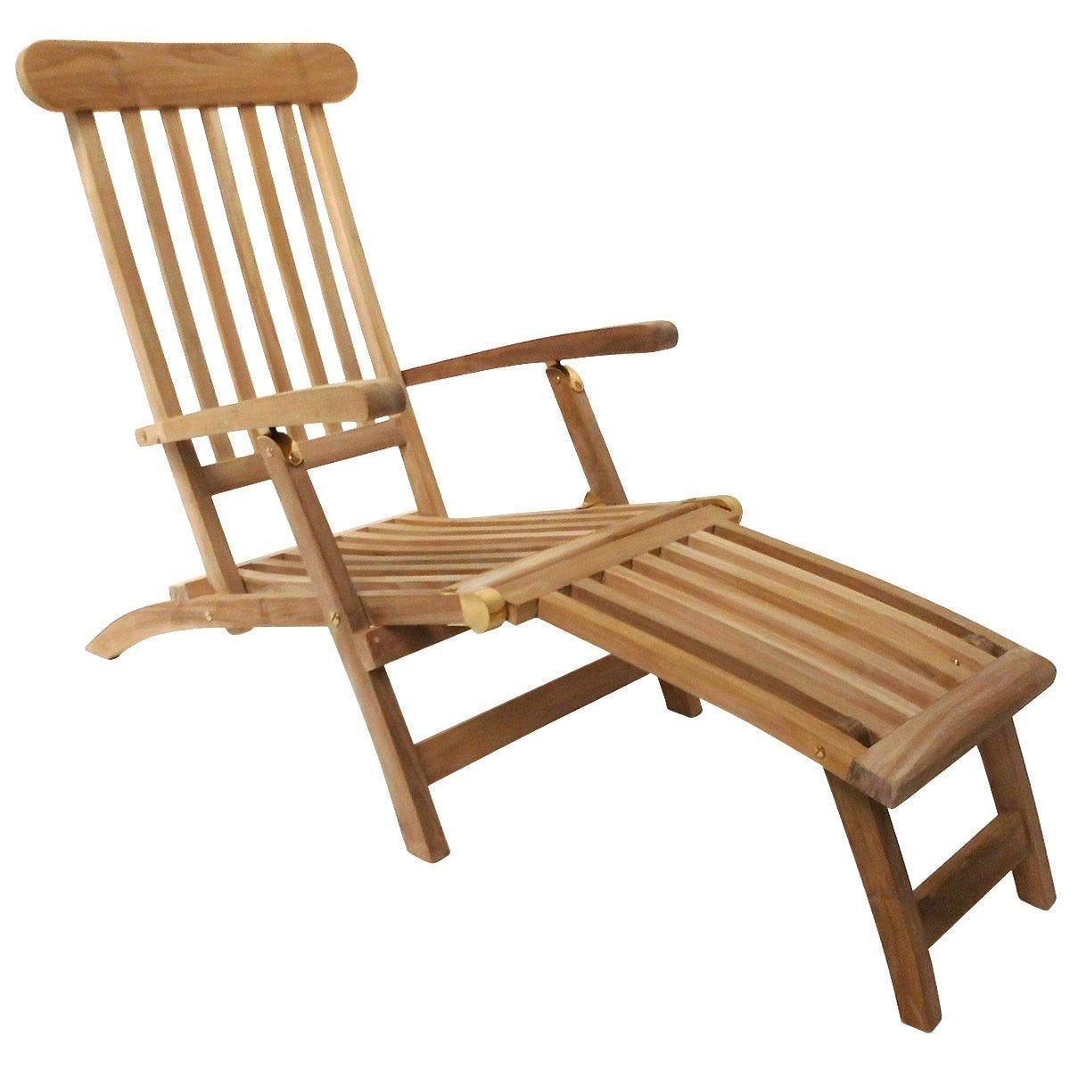 Charles Bentley Wooden Steamer Chair