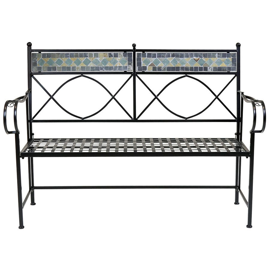 Compare cheap offers & prices of Charles Bentley 3-Seater Bench - Mosaic manufactured by Charles Bentley