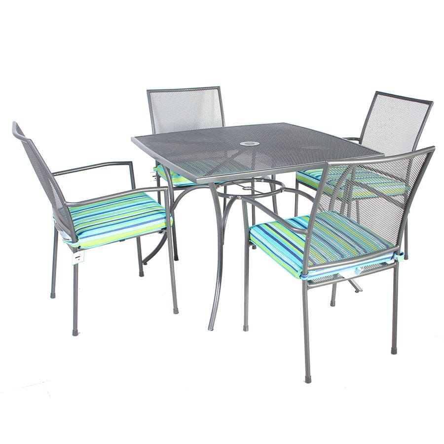 Compare cheap offers & prices of Charles Bentley 4-Seater Metal Mesh Dining Set manufactured by Charles Bentley