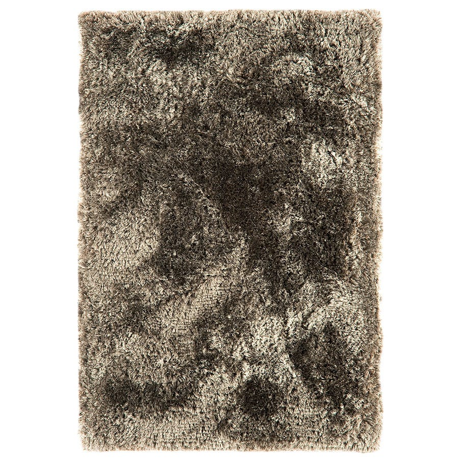 Asiatic Plush Shaggy Rug, 200 X 300cm - Taupe