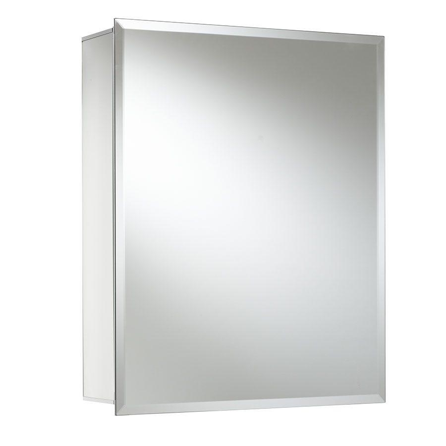 Croydex Winster Single Door Mirrored Cabinet