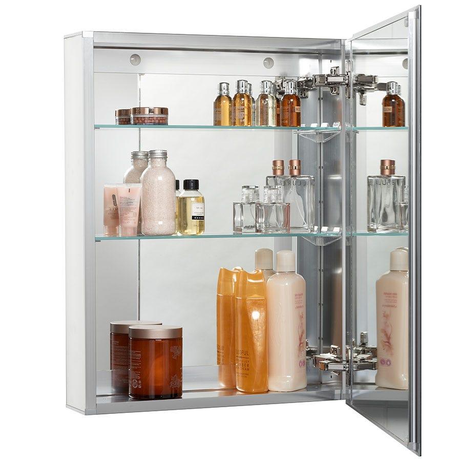 Croydex Langley Single Door Mirrored Cabinet