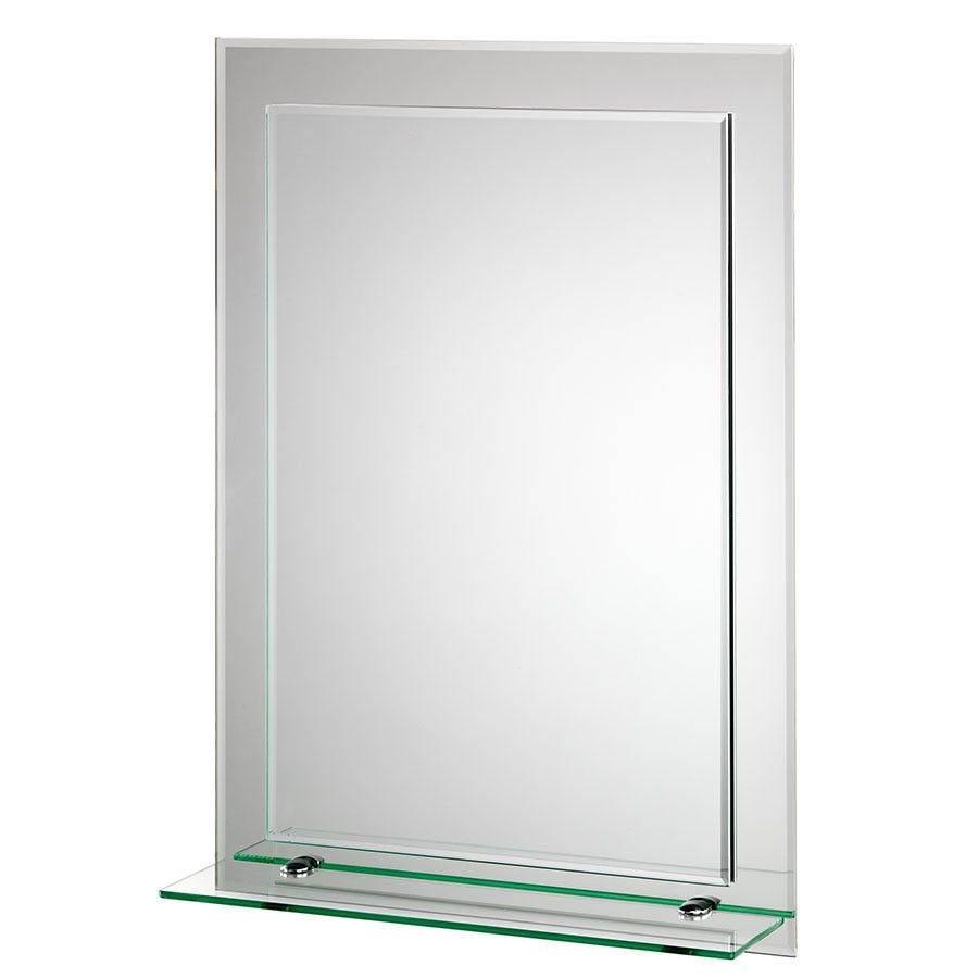 Compare prices for Croydex Devoke Rectangular Double Layer Mirror with Shelf
