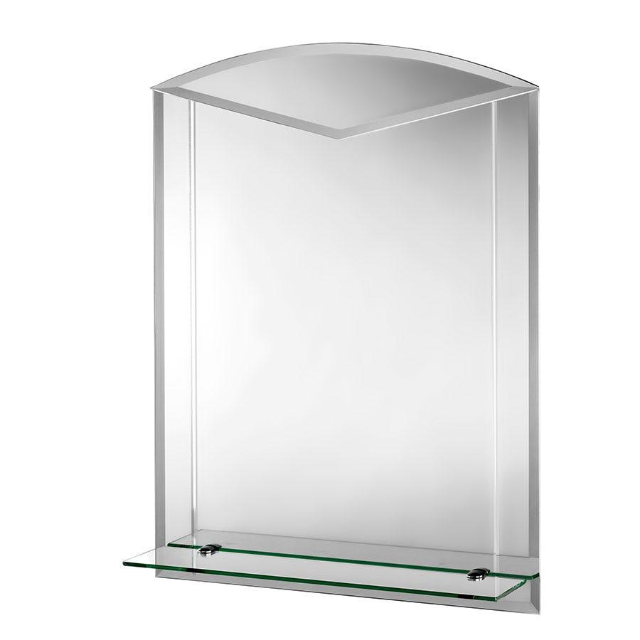 croydex fairfield arch mirror and shelf. Black Bedroom Furniture Sets. Home Design Ideas
