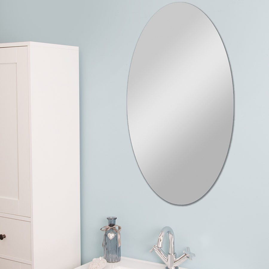 Compare prices for Croydex Belham Oval Mirror