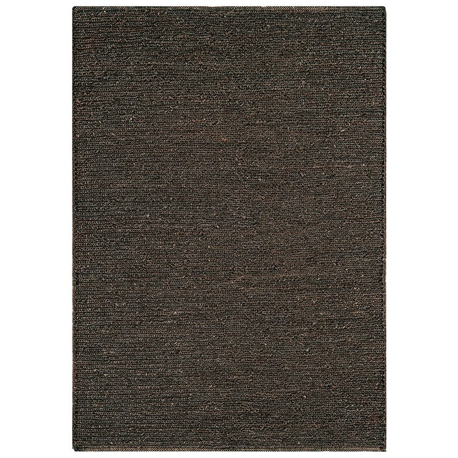 Asiatic Jute Rug, 120 x 170cm - Charcoal