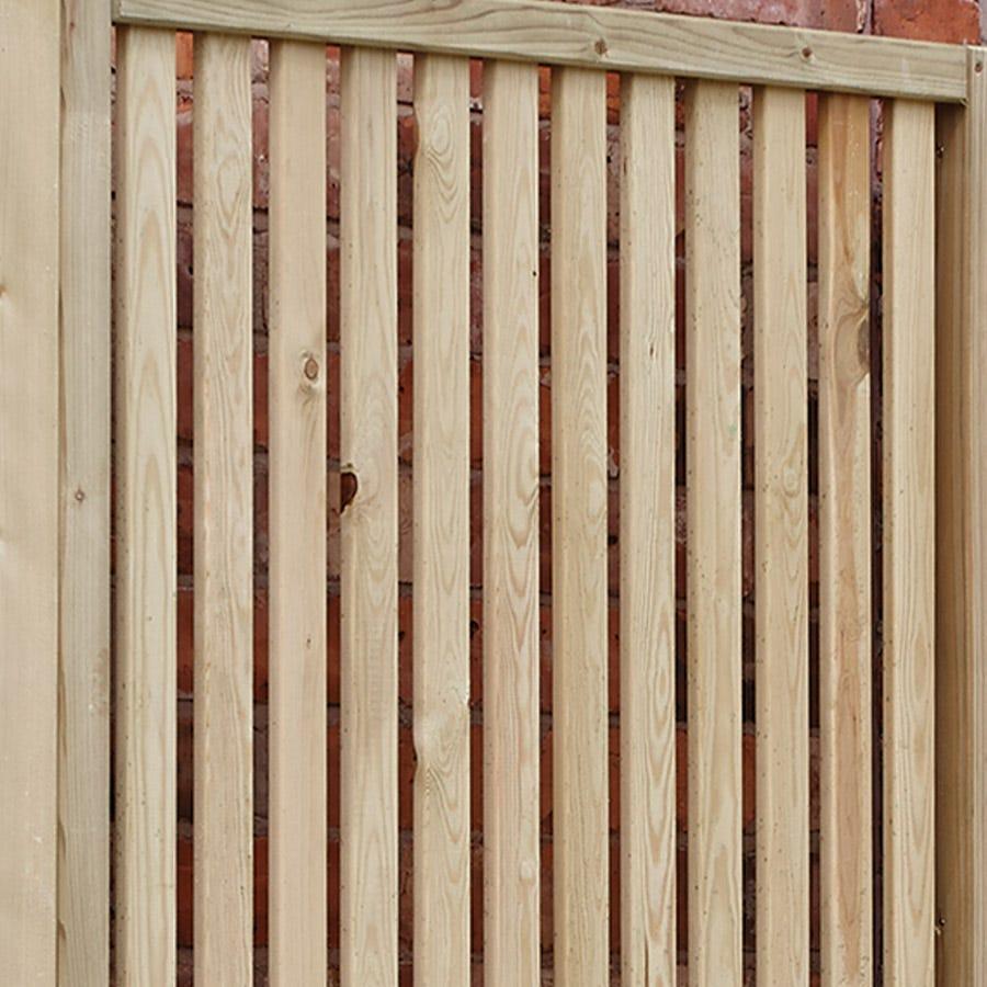Rowlinson Garden Creations Vertical Slat Screens Pack of 2