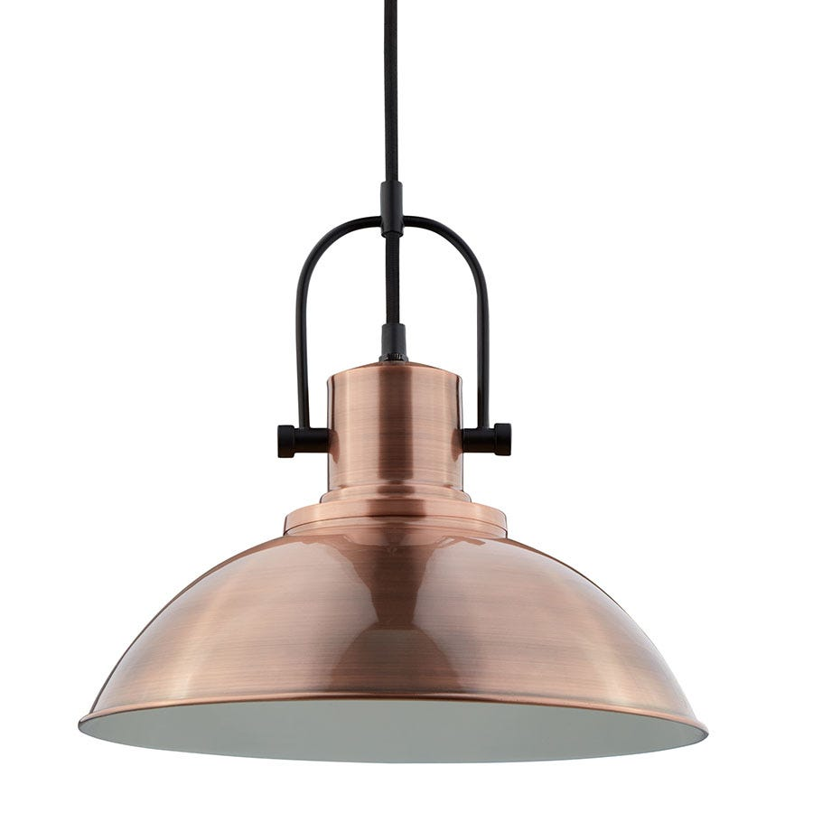 Compare prices for Searchlight Lighting Collection Amity Pendant Copper Ceiling Light