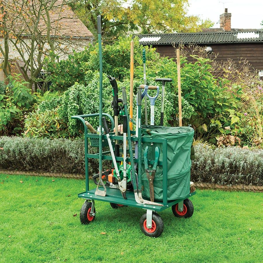 Rowlinson Garden Tool Truck, Green