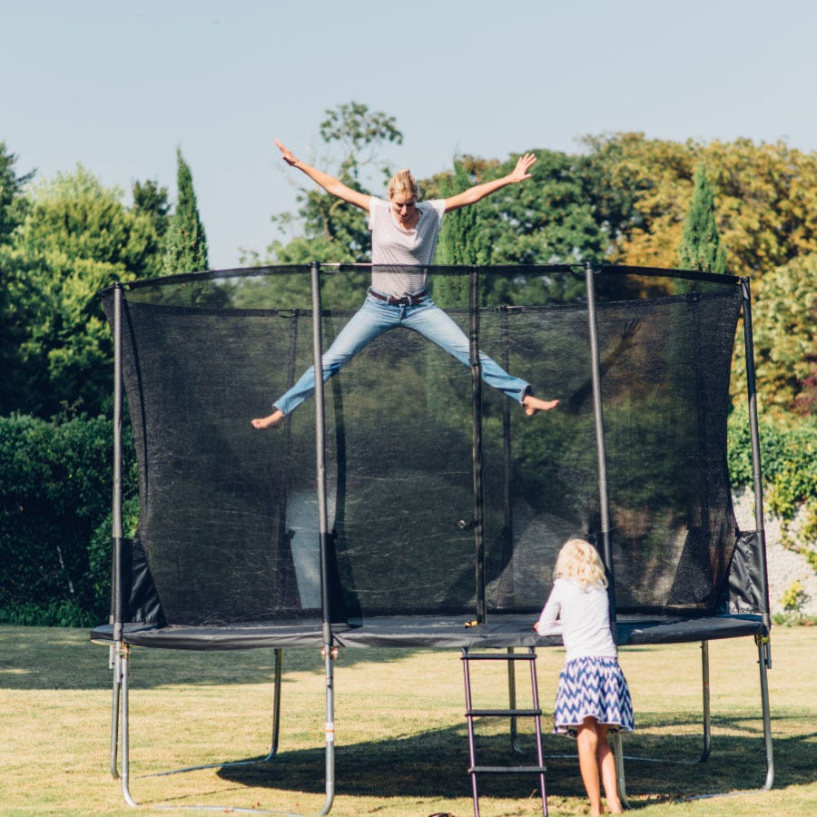 Plum Spacezone Springsafe Trampoline and 3G Enclosure - 12 Foot