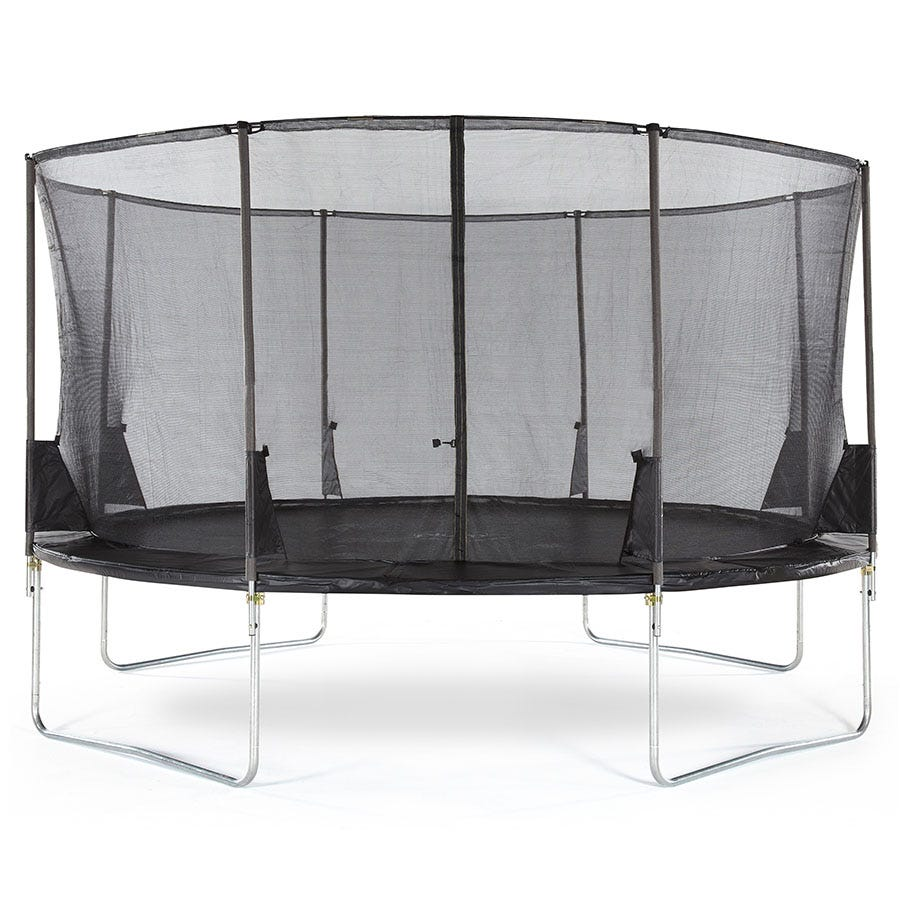 Plum 14ft Space Zone II Springsafe Trampoline and Enclosure