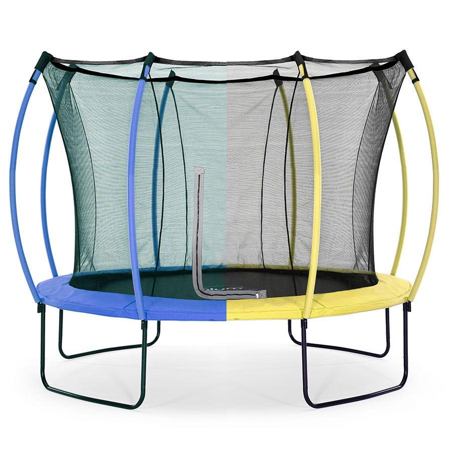 Plum Springsafe 10ft Trampoline & Enclosure - Snorkel Blue or Citrus Lime