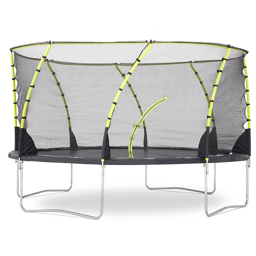 Plum 14ft Whirlwind Springsafe Trampoline and 3G Enclosure