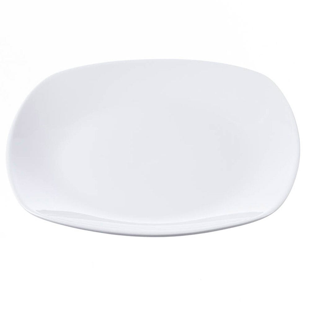 Image of Robert Dyas 10.5 Inch 27cm Dinner Plate - White Porcelain