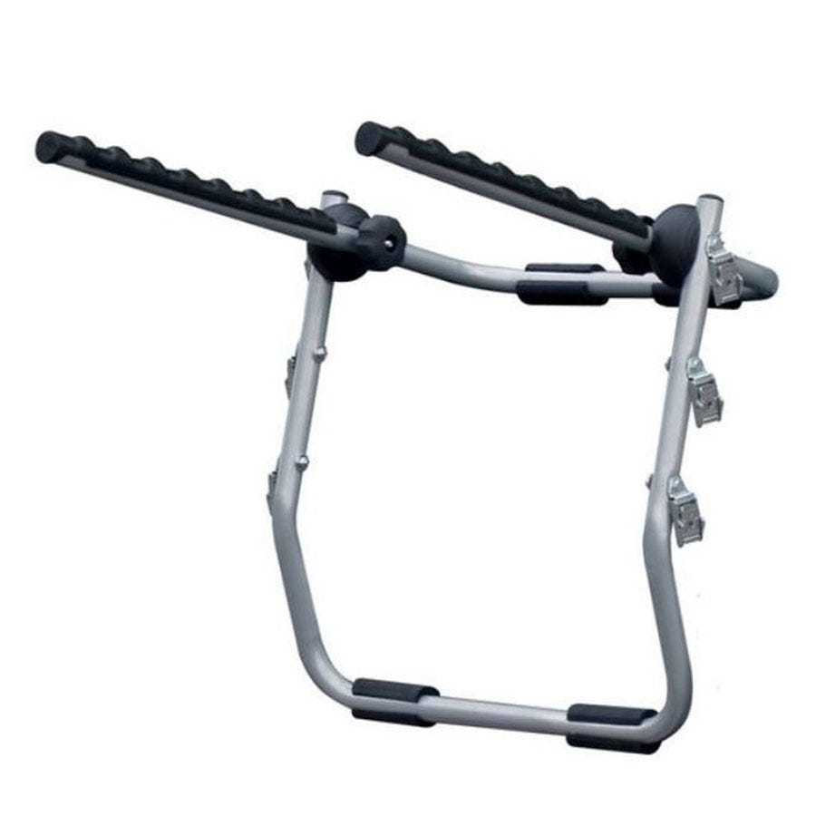 Compare prices for Menabo Biki Rear-Mounted Bike Rack for 3 Bikes - Silver