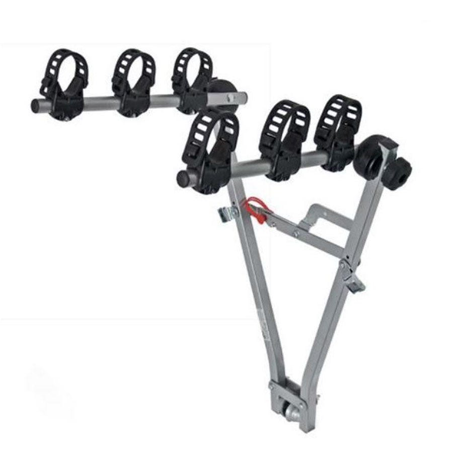 Compare prices for Menabo Marius Towbar Bike Rack for 3 Bikes - Silver