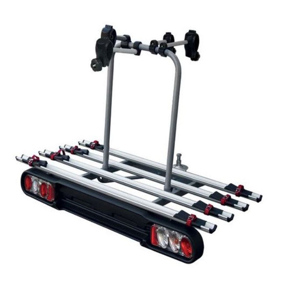 Compare prices for Menabo Race Towbar Bike Rack for 4 Bikes - Silver