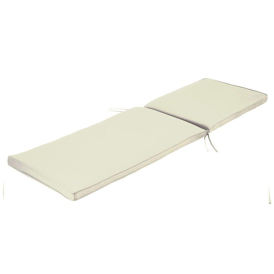 Charles Bentley Sun Lounger Cushion - Cream