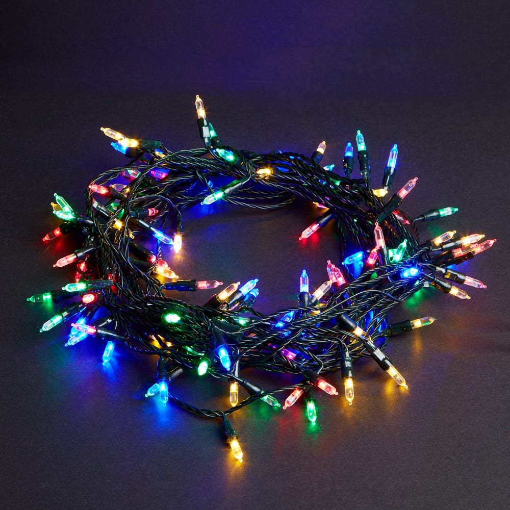 Image of Robert Dyas 120 Low Voltage LED Fairy Lights - Multiple Colour