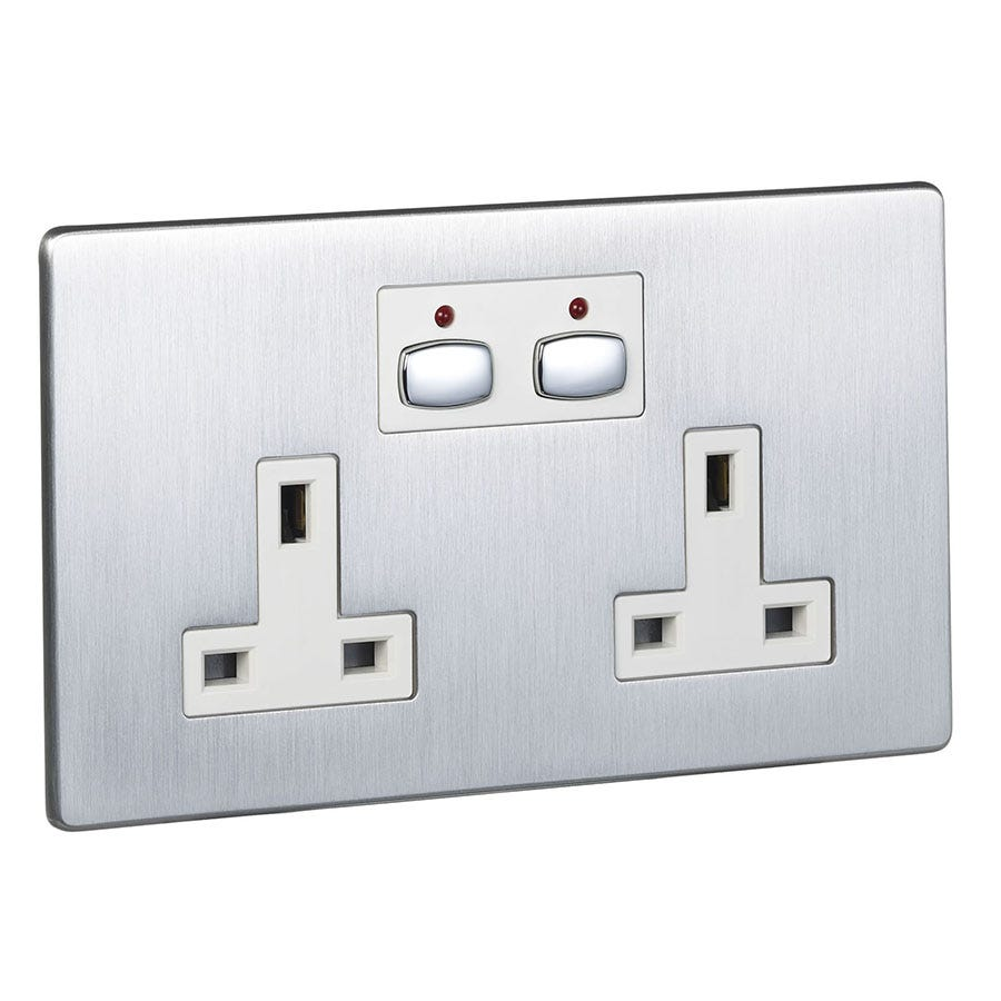 Compare prices for Energenie MiHome Double Wall Socket