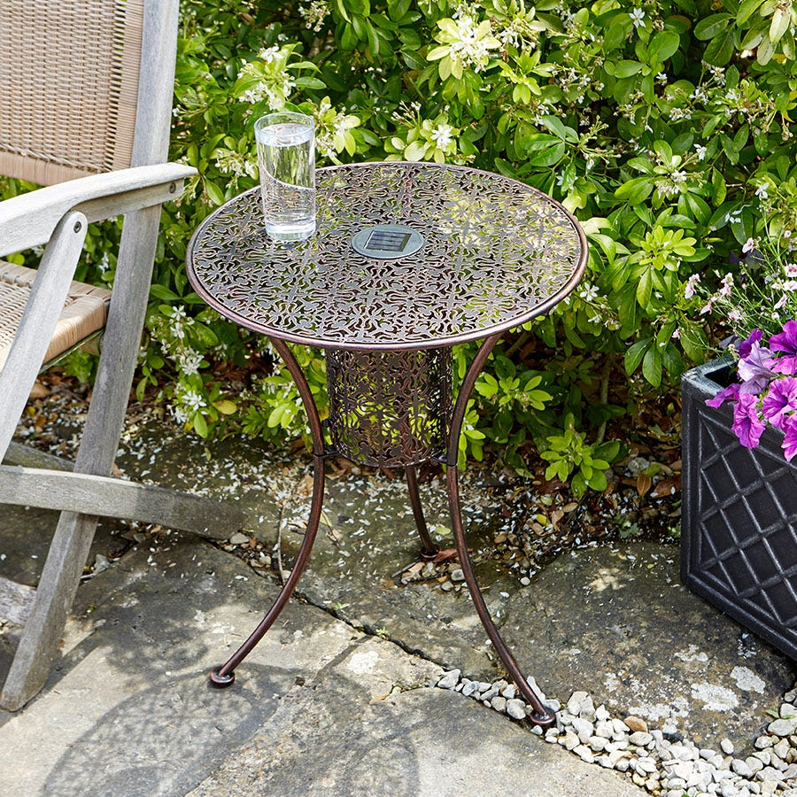 Smart Solar Smart Garden Solar Illumina Silhouette Table