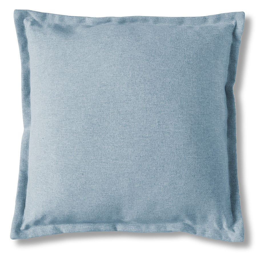 Compare prices for Gallery Two-Tone Cushion - Chambray Blue