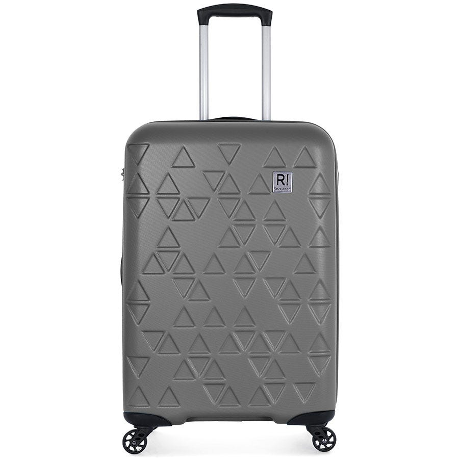Compare prices for Antler Revelation Echo 4-Wheel Medium Suitcase - Charcoal